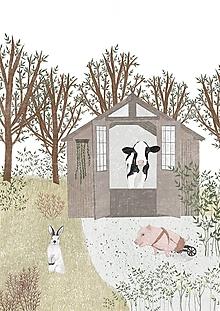 Grafika - Zvieracia ilustrácia - 12797609_