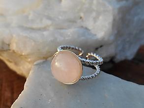 Iné šperky - rosa pink-ruženín-spona na šatku - 12802005_