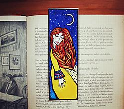 Papiernictvo - V noci radosť - záložka - 12801505_