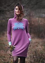 Mikinošaty Lilac