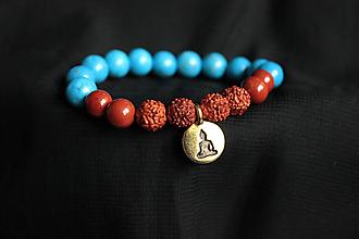 Náramky - Ochranný náramok Buddha - 12801264_