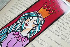 Papiernictvo - Princezná - záložka - 12802024_