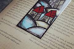 Papiernictvo - Sivý deň - záložka - 12802044_