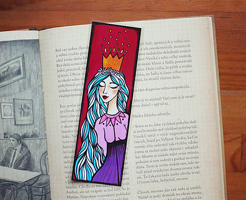 Princezná - záložka