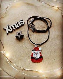 Náhrdelníky - Šťastné a veselé Vianoce 🎅🎁🍀 - 12803139_