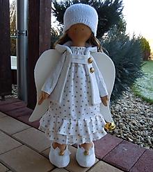 Bábiky - Vianočný anjel - 12804576_
