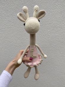 Hračky - háčkovaná Žirafka - 12804517_