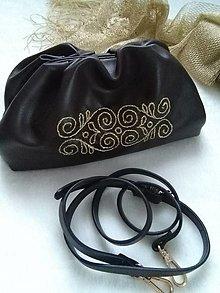 Kabelky - Darcy (kabelka s ručnou výšivkou) - 12804733_