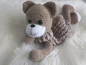 Hračky - Macko pyžamkožrútik - 12804989_