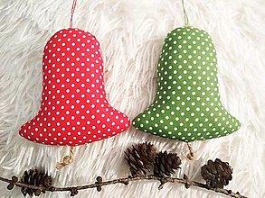 Dekorácie - Vianočné zvončeky - 12805097_