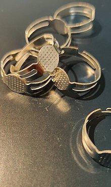 Komponenty - Zaklad na prsten strieborny vzhlad - 12807687_