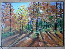 Obrazy - Jeseň, poetka - 12806601_