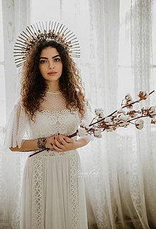 Šaty - Svadobné šaty v boho štýle SKLADOM  - 12806249_