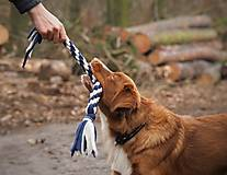 Pre zvieratká - Fleecové preťahovadlo - 12807745_