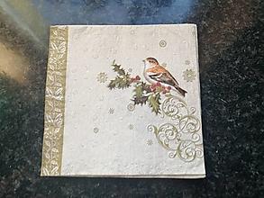Papier - vtáčiky - 12806702_