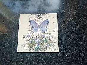 Papier - motýľ - 12806766_