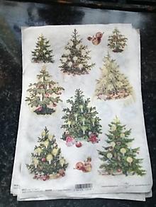 Papier - stromčeky - 12806836_