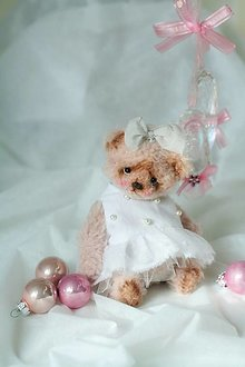 Hračky - Mini medvedica Marienka - 12808513_