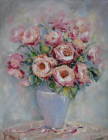 Obrazy - Sladké ruže 3 - 12808780_