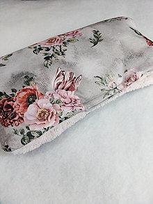 Textil - Kvetinový rukávnik - 12810234_