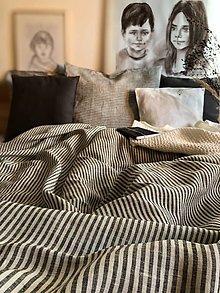 Úžitkový textil - Ľanové posteľné obliečky Julianna - 12809411_