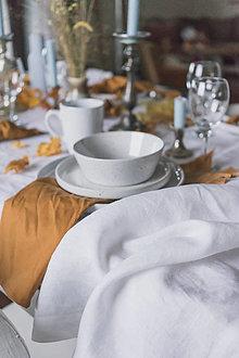 Úžitkový textil - Ľanový obrus - 12809954_
