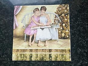 Papier - dievčatá - 12809122_
