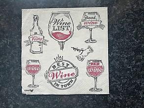 Papier - víno - 12809208_