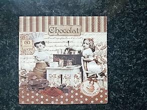 Papier - čokoláda - 12809212_