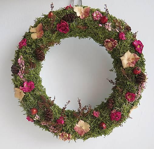 """Dekorácie - Veniec zo sušených kvetov """"Forest"""" - 12812763_"""