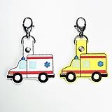 Kľúčenky - Prívesok sanitka - 12813415_