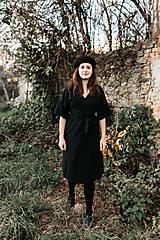 Šaty - zavinovacie šaty - 12811824_