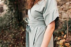 Šaty - zavinovacie šaty - 12811829_