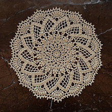 "Úžitkový textil - Čipka 3D ""Flora"" - 12813337_"