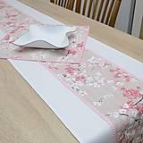 Úžitkový textil - SAKURA - behúň - 12812027_