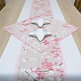 Úžitkový textil - SAKURA - behúň - 12812028_