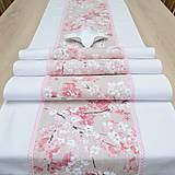 Úžitkový textil - SAKURA - behúň - 12812035_