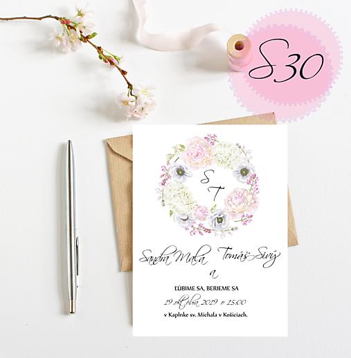 svadobné oznámenie 30