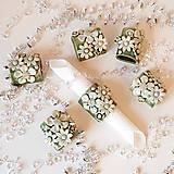 """Dekorácie - """"na servítky"""" - kvety - 12813875_"""
