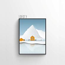 Grafika - Lofoty - 12813227_