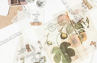 """Papier - Ephemera na tvorenie """"nature"""" - 12814375_"""