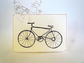 Papiernictvo - Drôtovaná pohľadnica *20 cm - 12813008_