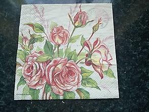 Papier - ruže - 12813238_
