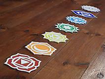 Dekorácie - čakry - symboly 3d tlač - 12815210_
