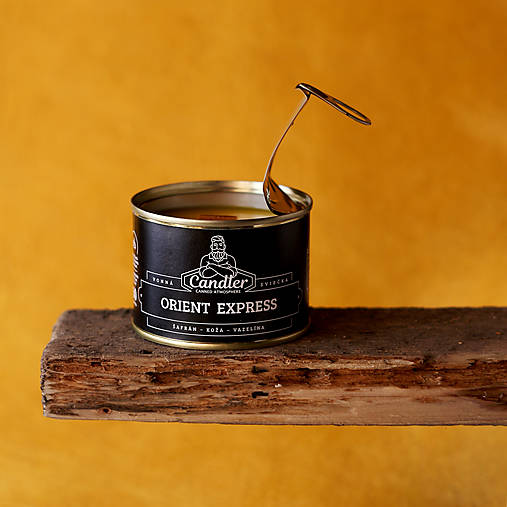 Sójová sviečka Orient Express, 140 g