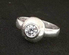 Prstene - Eye II.-strieborný prsteň - 12817071_
