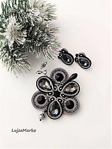 Sady šperkov - Selena sada v darčekovom balení - 12816107_