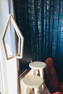 """Nábytok - Drevený visiaci stojan na rastliny z kolekcie """"Olaf"""" - 12817610_"""