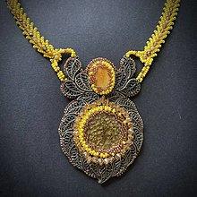 Sady šperkov - Set náhrdelník s náušnicami - 12818616_