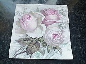 Papier - ruže - 12817900_